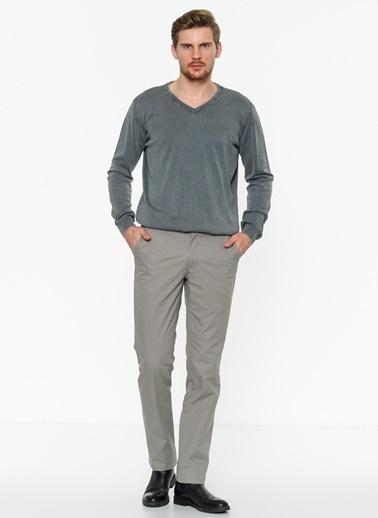 T-Box Pantolon Gri